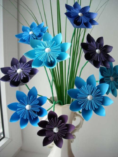 Красивые поделки своими руками из цветов