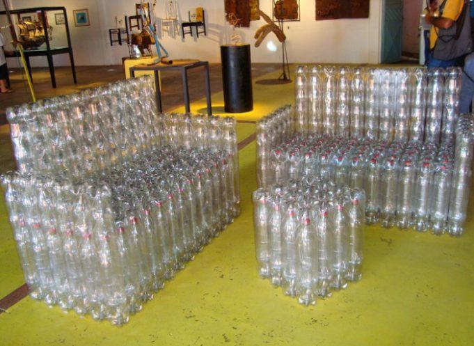 Своими руками из пластиковых бутылок как сделать пальму видео