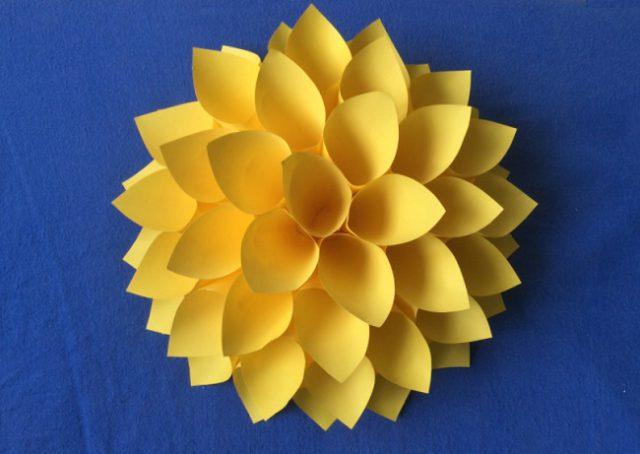 Фото как сделать из бумаги своими руками цветок