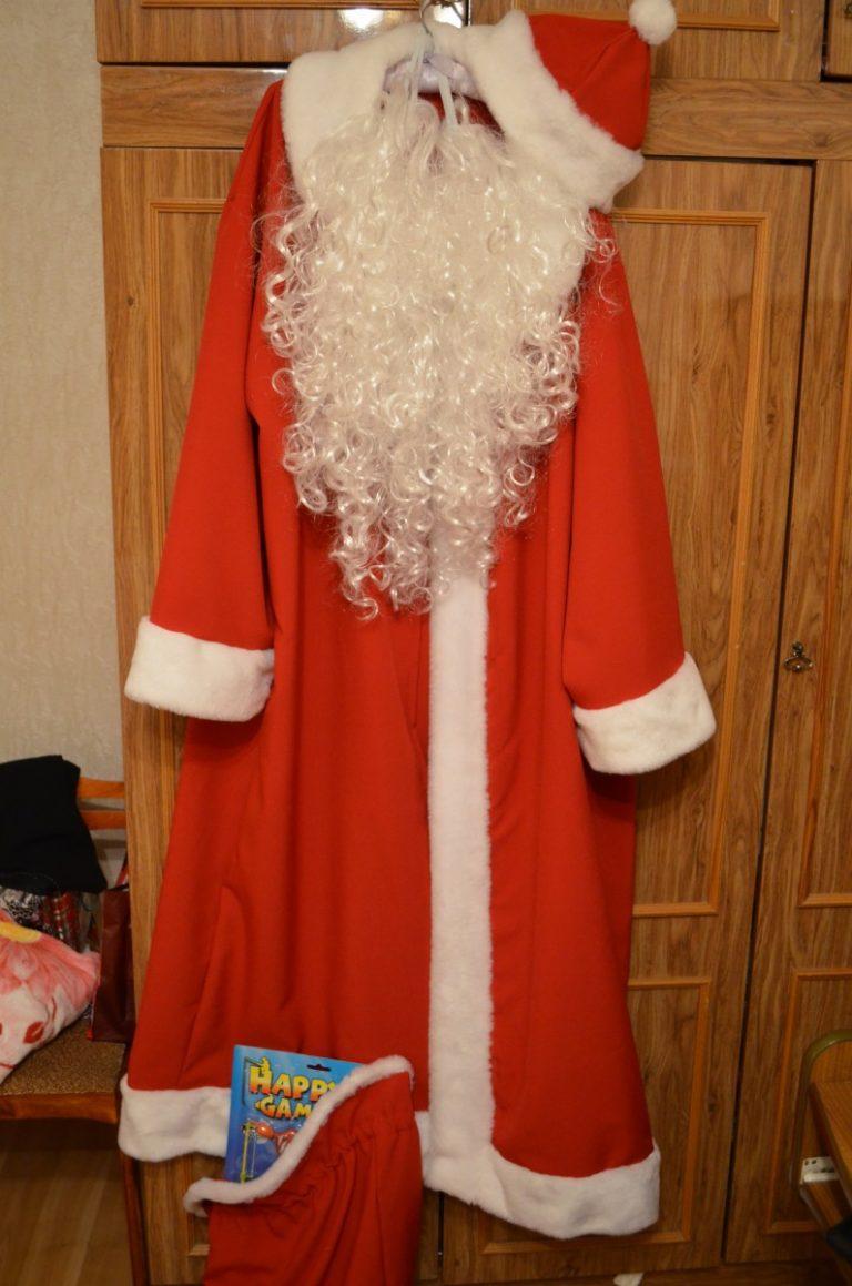 Как сшить костюм Деда Мороза без расходов 39