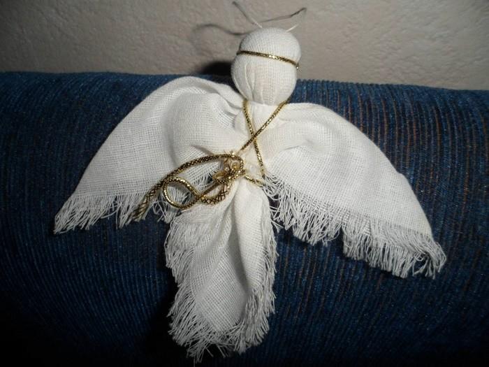 Как сделать ангела своими руками в домашних 56