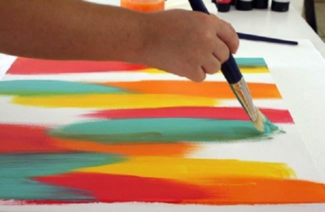 Техники абстрактной живописи