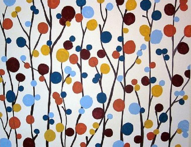 Абстракция в интерьерной живописи