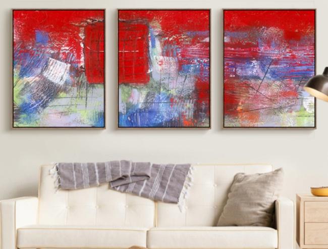 Примеры интерьерной живописи