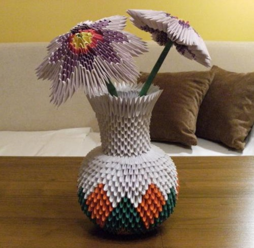 Красивые модульные оригами фото