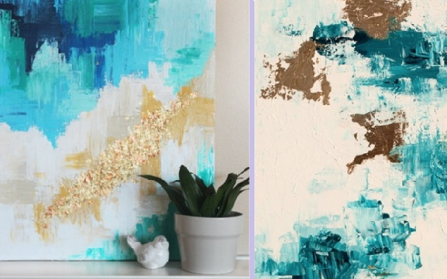 Абстрактная живопись своими руками