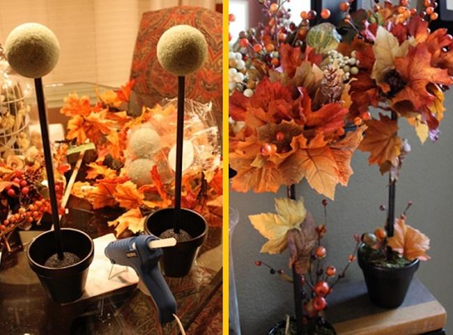 Как сделать топиарий из листьев своими руками
