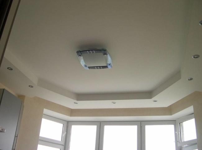 Дизайн потолка из гипсокартона фото