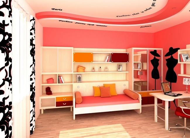 Комната девочки-подростка во французском стиле
