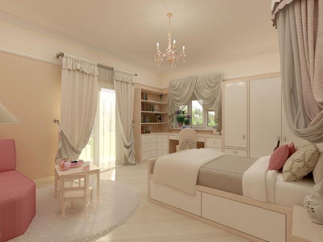Стильная комната для девочки-подростка