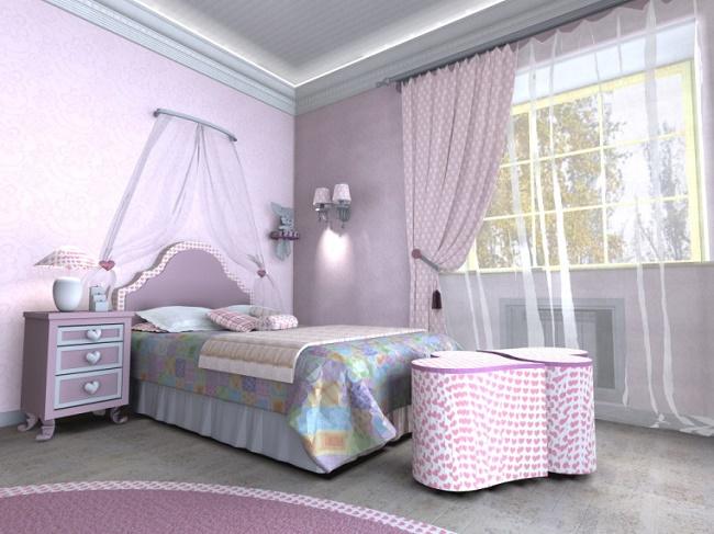 Красивая комната для девочки-подростка