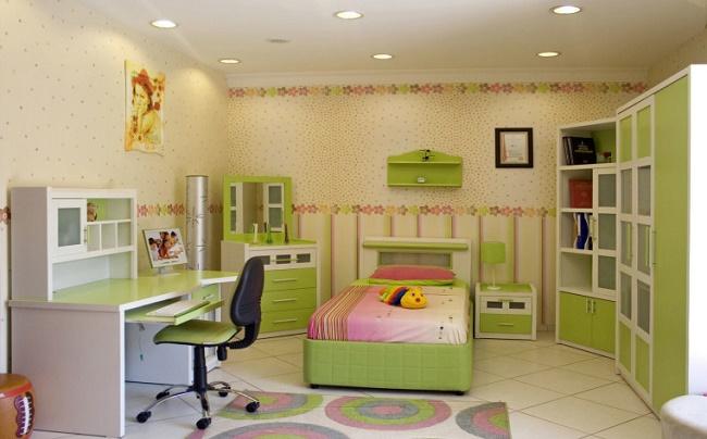 Оригинальная комната для девочки-подростка