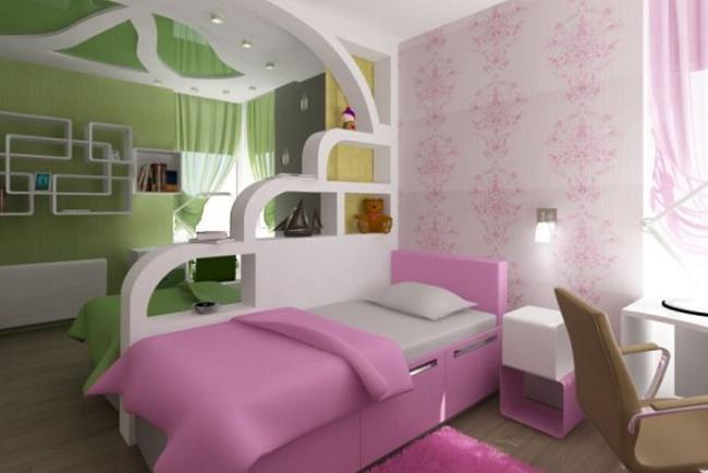 Идеи дизайна для комнаты девочки-подростка