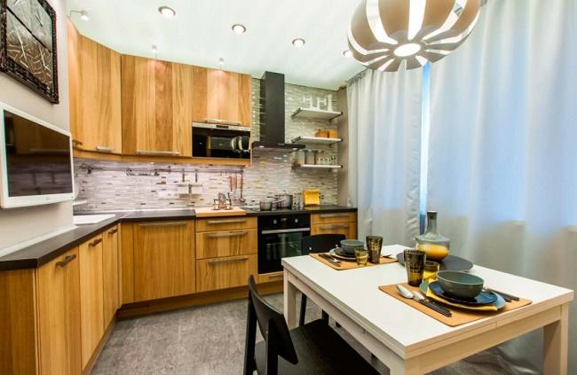 Дизайн и обустройство кухни размером 10 кв.м.