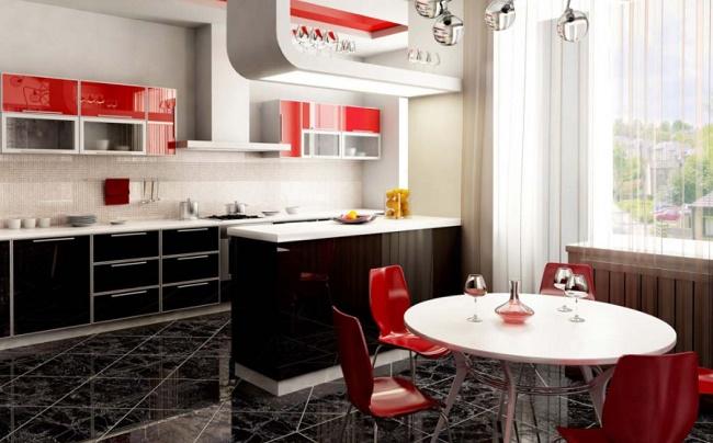 Дизайн кухни 10 кв.м.