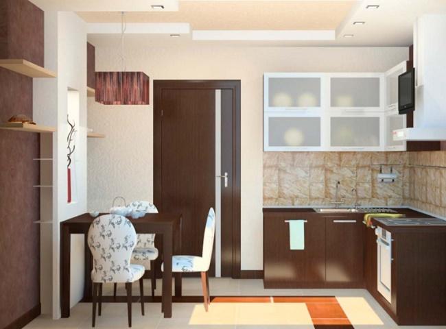 Кухня 10 кв.м. особенности дизайна