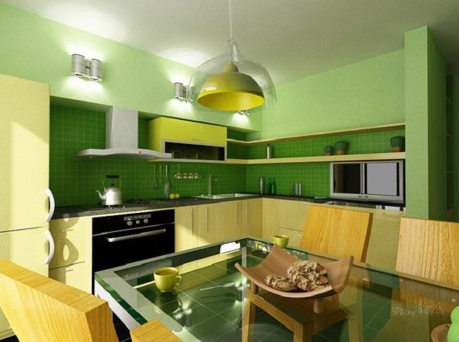 Как обустроить кухню 10 кв.м.