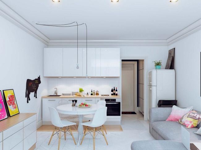 Как обустроить кухню размером 10 кв.м.