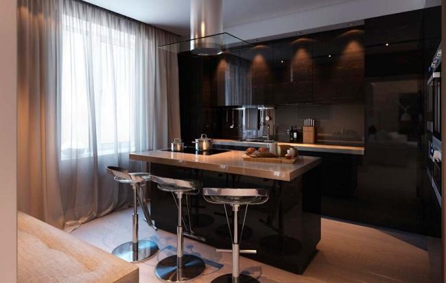 Кухня размером 10 кв.м. Дизайн и обустройство