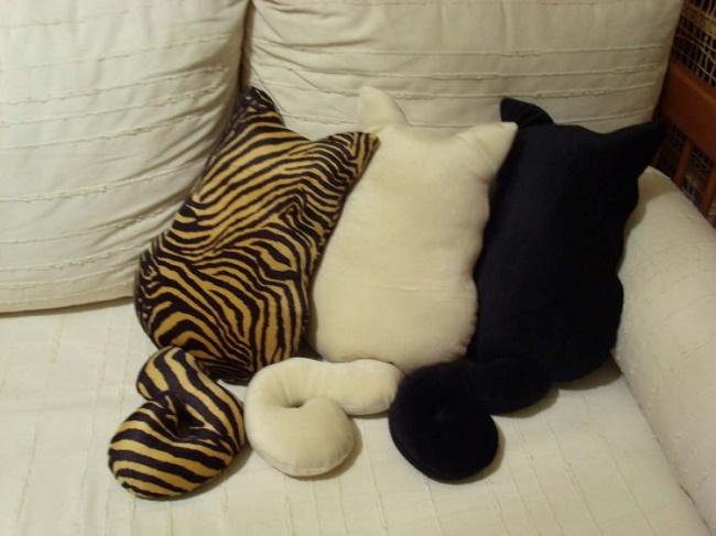Прикольные подушки своими руками