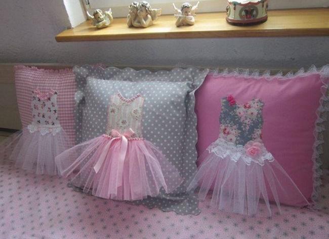 Оригинальные подушки для детской комнаты своими руками