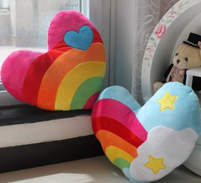 Оригинальные подушки для детей своими руками