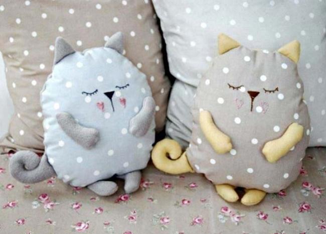 Оригинальные детские подушки своими руками