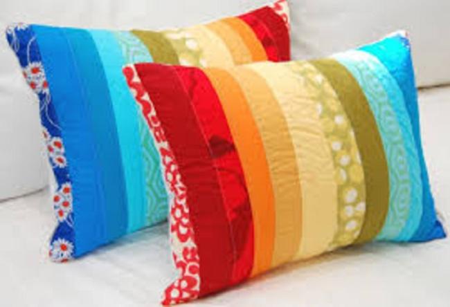 Подушки для интерьера своими руками