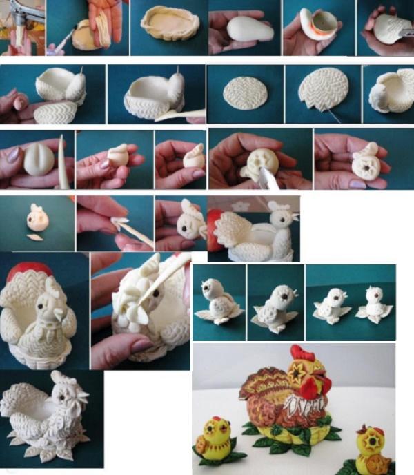Поделки из соленого теста своими руками