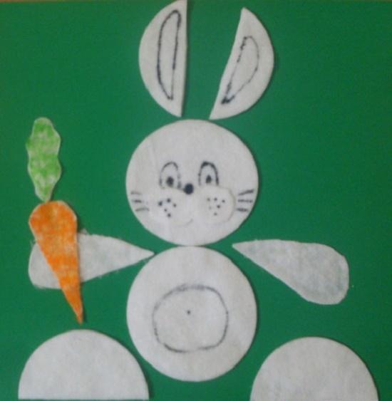 Поделки из ватных дисков для детей