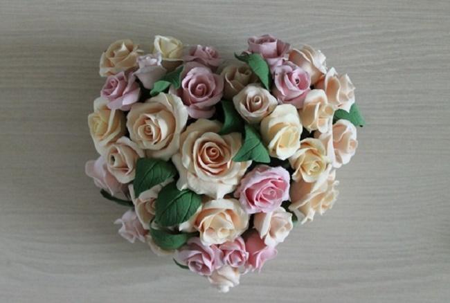 Свадебные украшения из полимерной глины