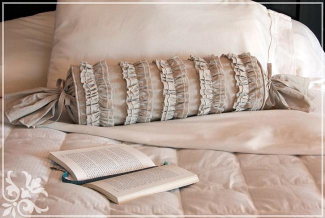 Подушки в стиле шебби-шик своими руками