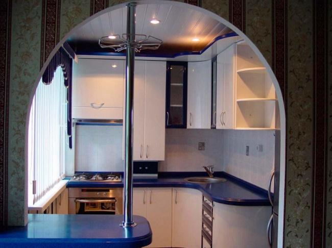 Дизайн кухни 6 кв.м