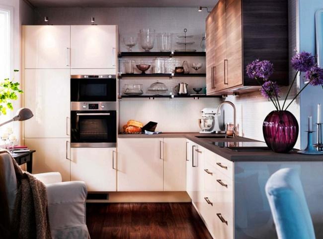 Как обустроить кухню 6 кв.м