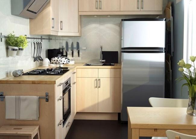 Кухня 6 кв.м фото