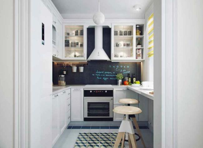 Кухня 6 кв.м. дизайн и обустройство