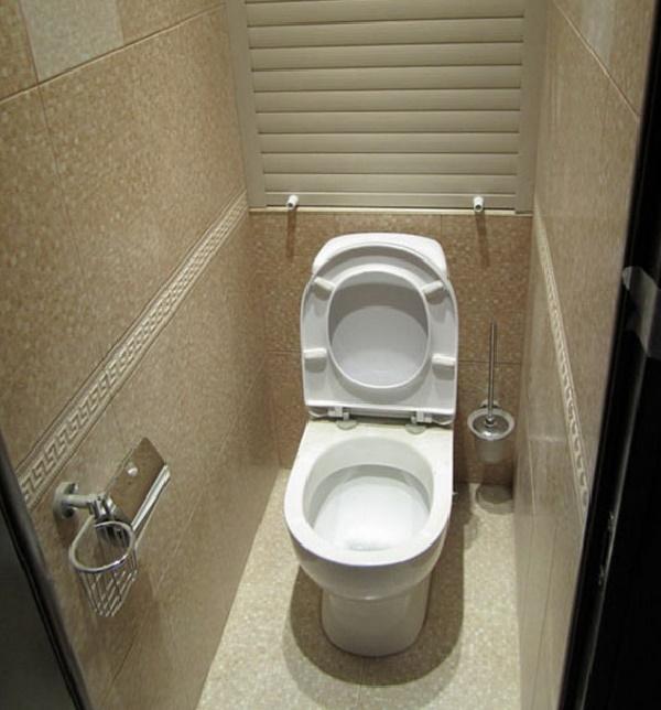 Компактный туалет и его дизайн фото