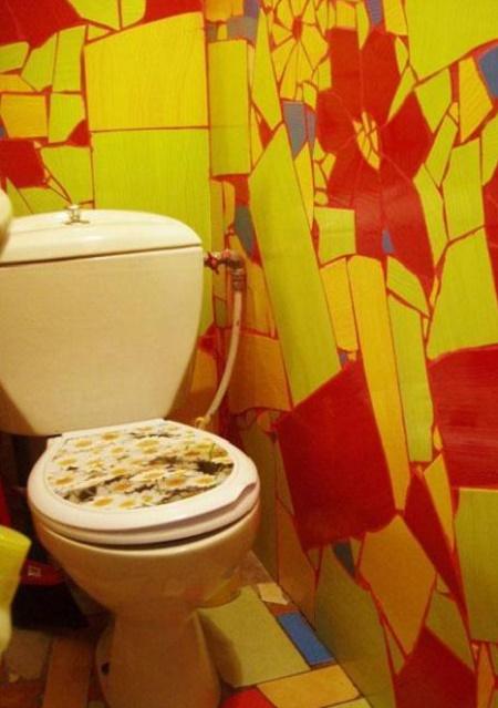 Фото дизайн маленького туалета