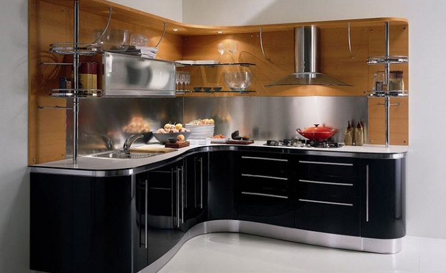 Преимущества угловой кухни