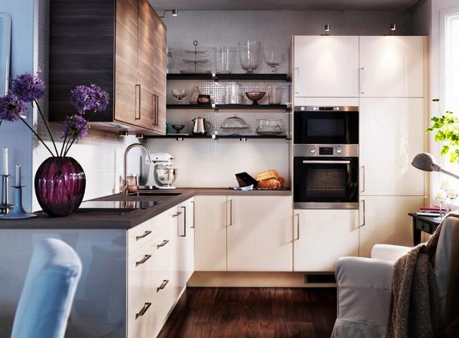 Какие бывают угловые кухни