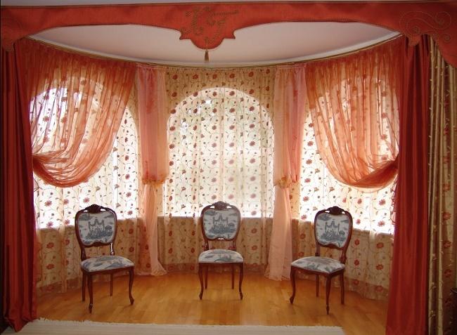 Красивые шторы в дизайне комнаты