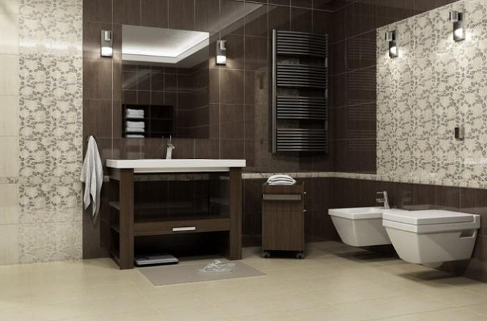 Раскладка плитки в ванной фото
