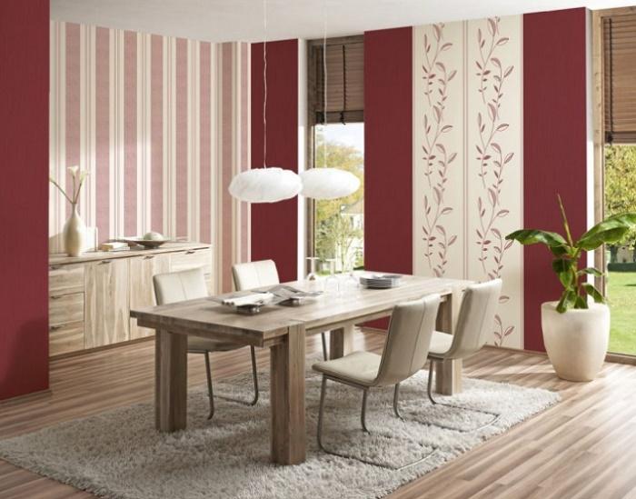 Дизайн обоев гостиной