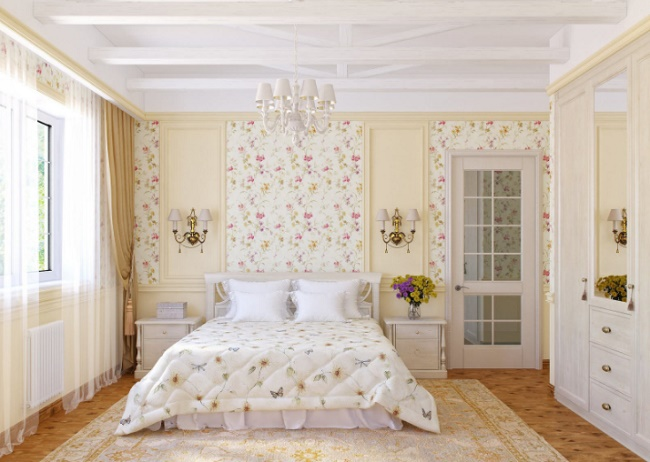 Спальня для девушки в стиле прованс