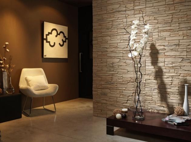 Искусственный камень и современный дизайн
