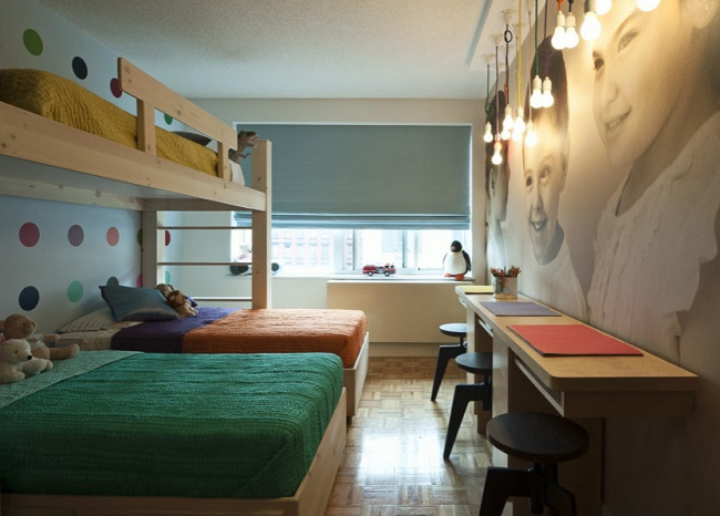 Комната для троих детей фото