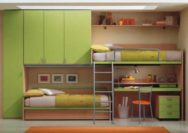 Дизайн комнаты для троих детей фото