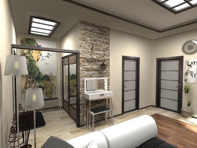 Планировка и дизайн 2-комнатных квартир