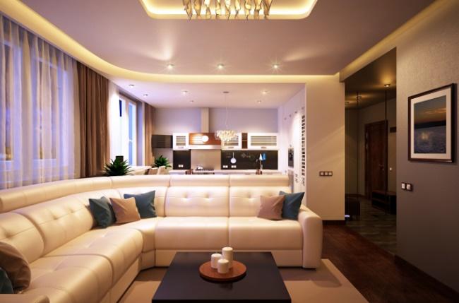 Дизайн и планировка 2-х комнатной квартиры