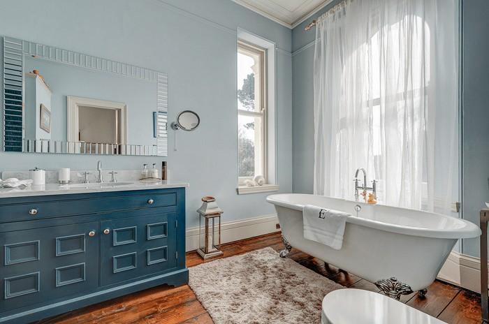 Дизайн ванны в стиле Прованс